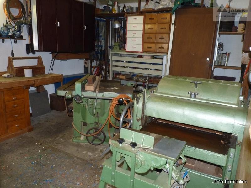Werkstatt inkl. Geräte