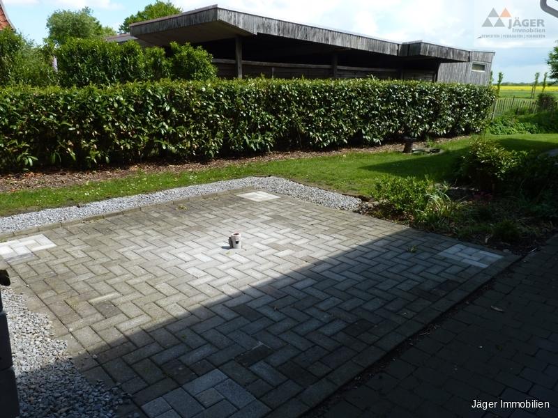 Garten-Terrassenbereich