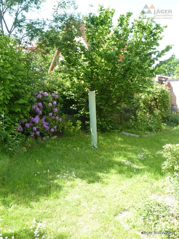 seitlicher Gartenbereich