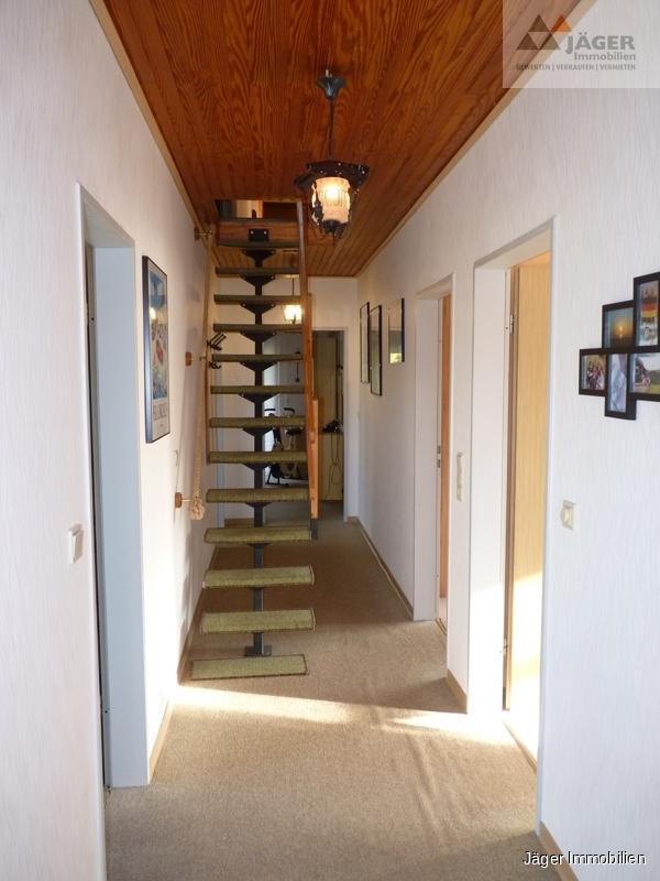 Treppe z Spitzboden